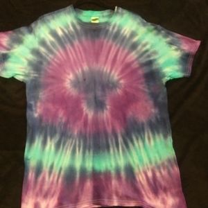 Adult size large handmade tie dye t shirt.